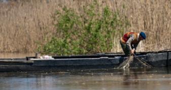 Ловив рибу сітками. Фото ілюстративне