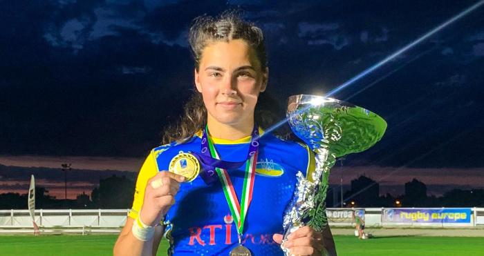 Олена Пасічко стала чемпіонкою Європи з регбі-7