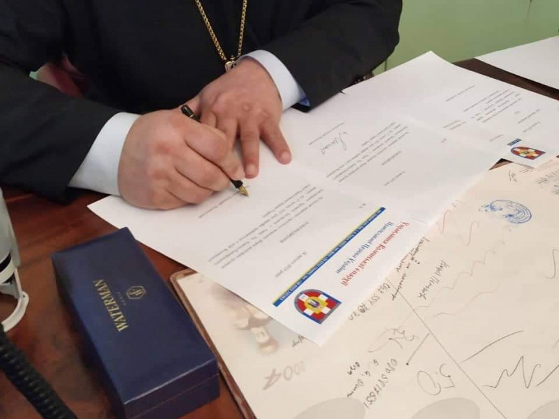 Раків Ліс: релігійна громада отримала новий статут