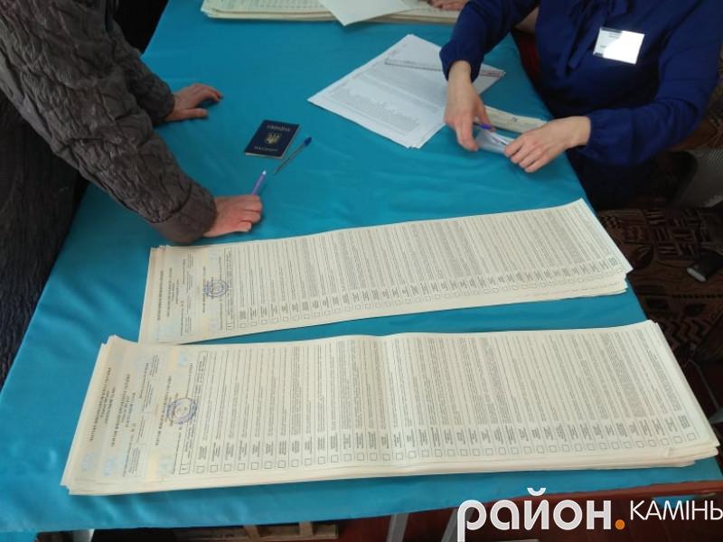 На Камінь-Каширщині на 16 годину проголосувало менше половини виборців