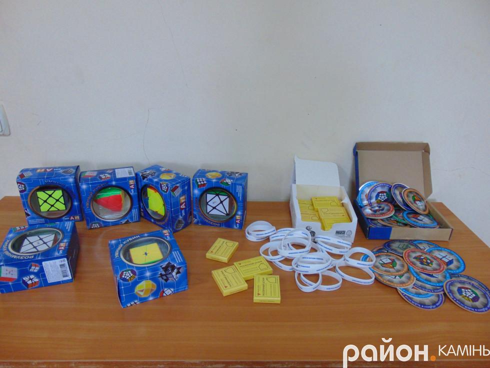 Призовий фонд від  магазину головоломок  Кубик, м. Київ