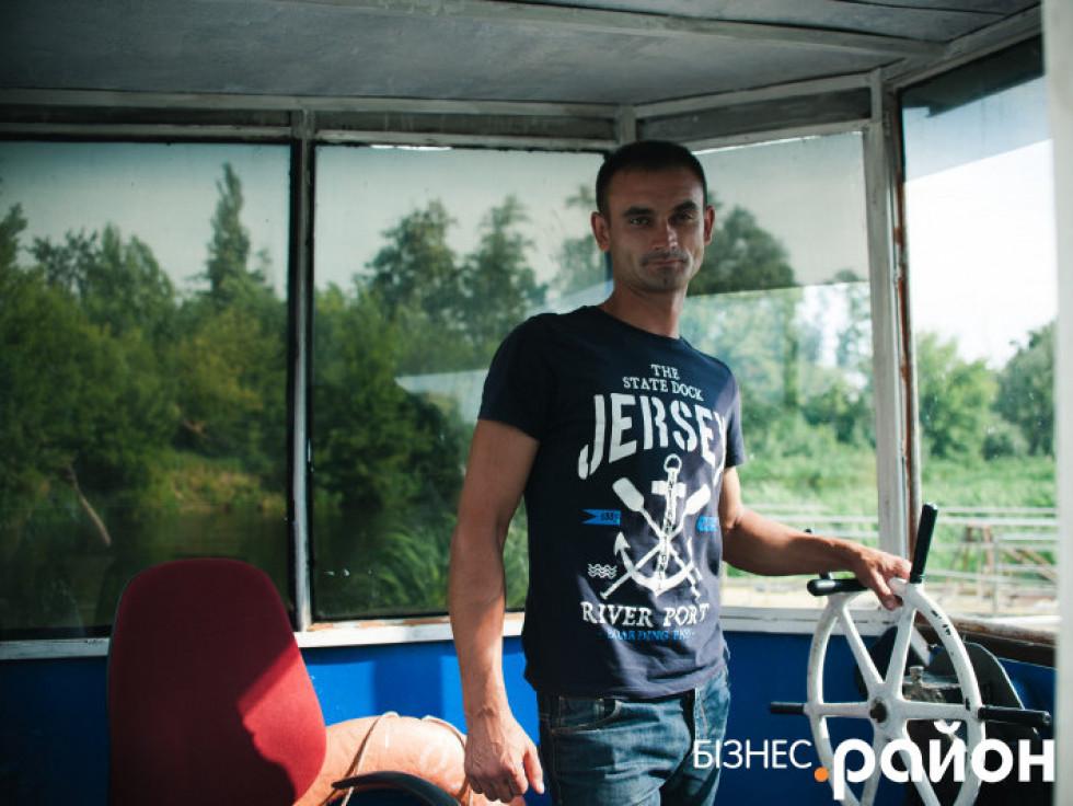 Директор Річкового порту «Луцьк» Олег Кербалай