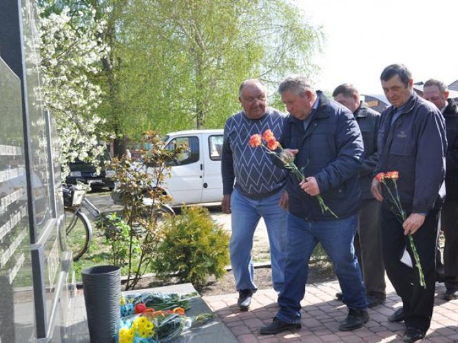 У Камені-Каширському вшанували пам'ять загиблих на Чорнобильській АЕС