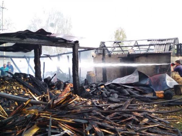 На Камінь-Каширщині перед Великоднем трапилося три пожежі