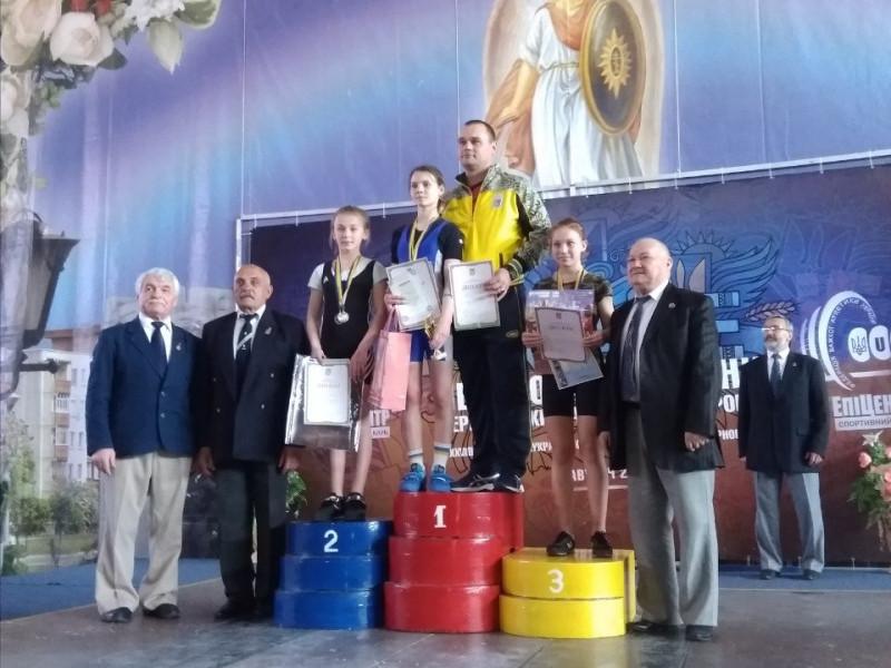 Важкоатлети із Камінь-Каширщини здобули призові місця на Чемпіонаті України
