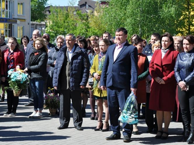 На Камінь-Каширщині відбулися заходи, присвячені Дню пам'яті та примирення