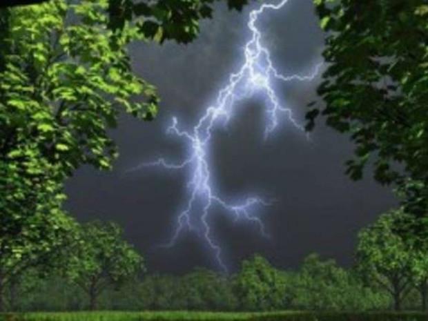 Дощ із грозою