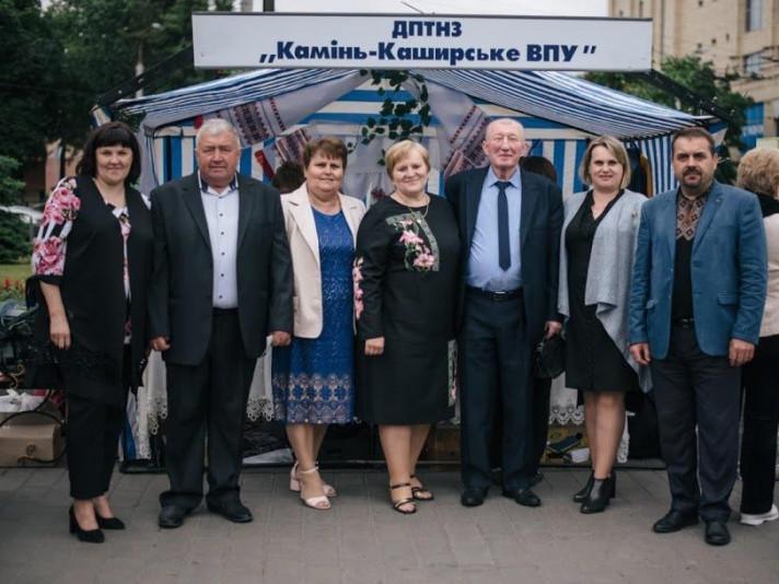 Камінь-Каширське ВПУ отримало нагороди на святі профтехосвіти