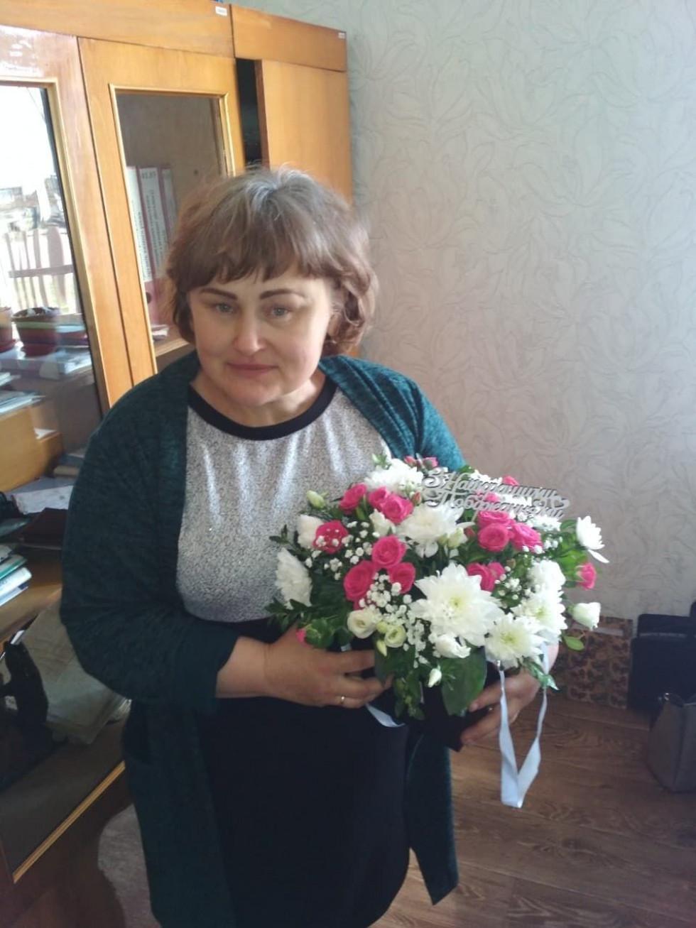 Голова Карасинської сільської ради Марина Мартинюк