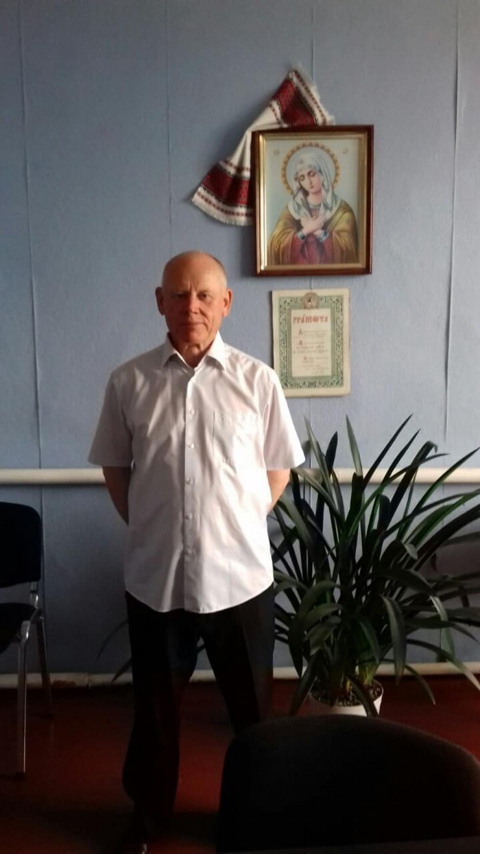 Черченський сільський голова Юрій Соколов