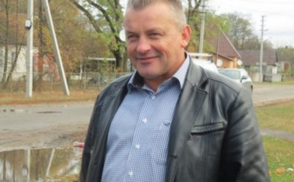 Голова Гуто-Боровенської ОТГ Михайло Оліферчук