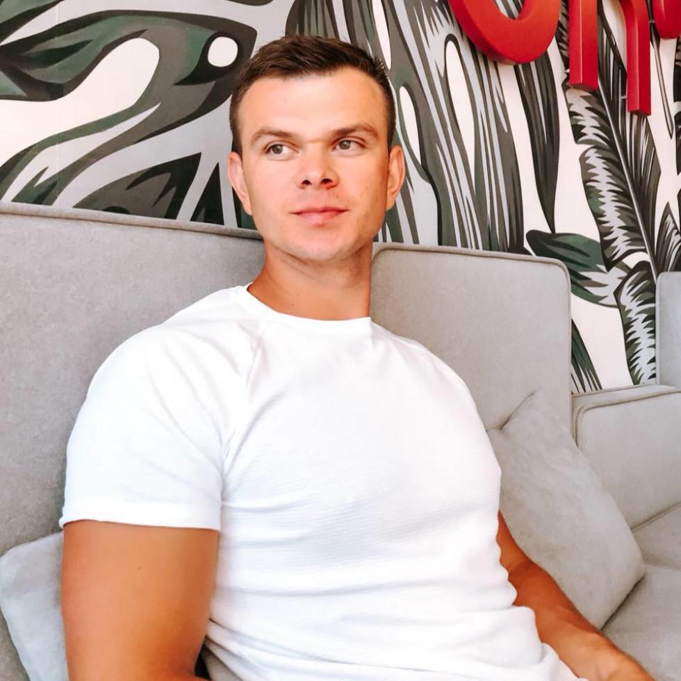 Громадський активіст, житель Каменя-Каширського Олександр Коб