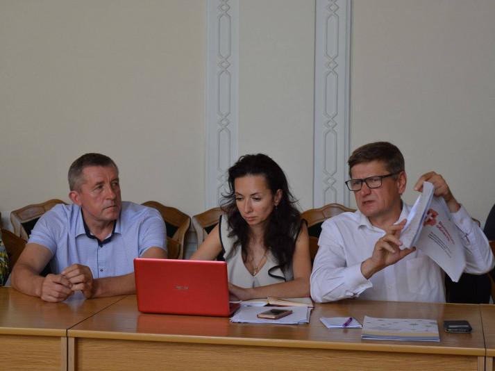 Волинь відстоює позицію укрупнення до чотирьох районів: у Мінрегіон відправлять протокол засідання робочої групи.