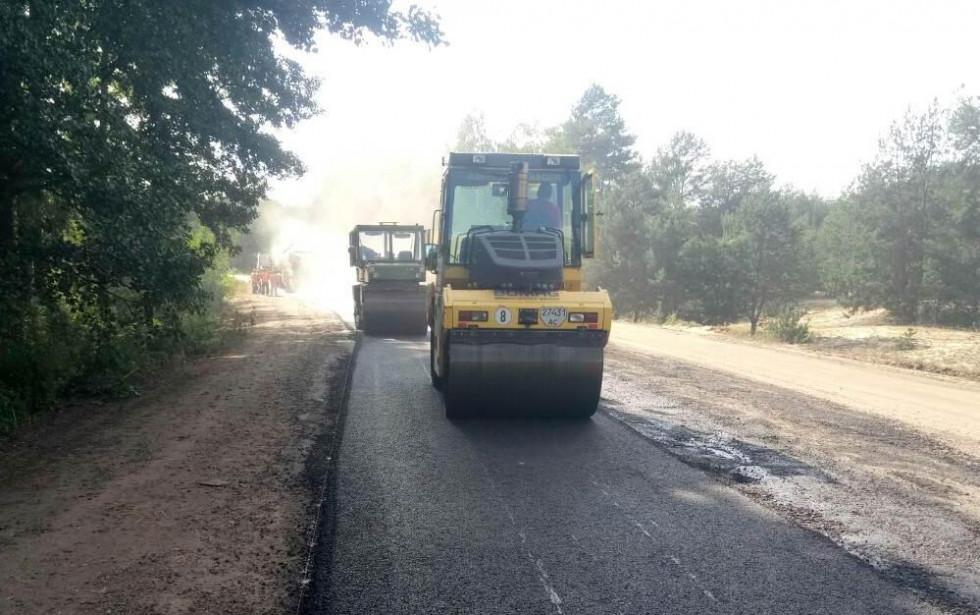 На аварійній ділянці дороги провели ремонтні роботи