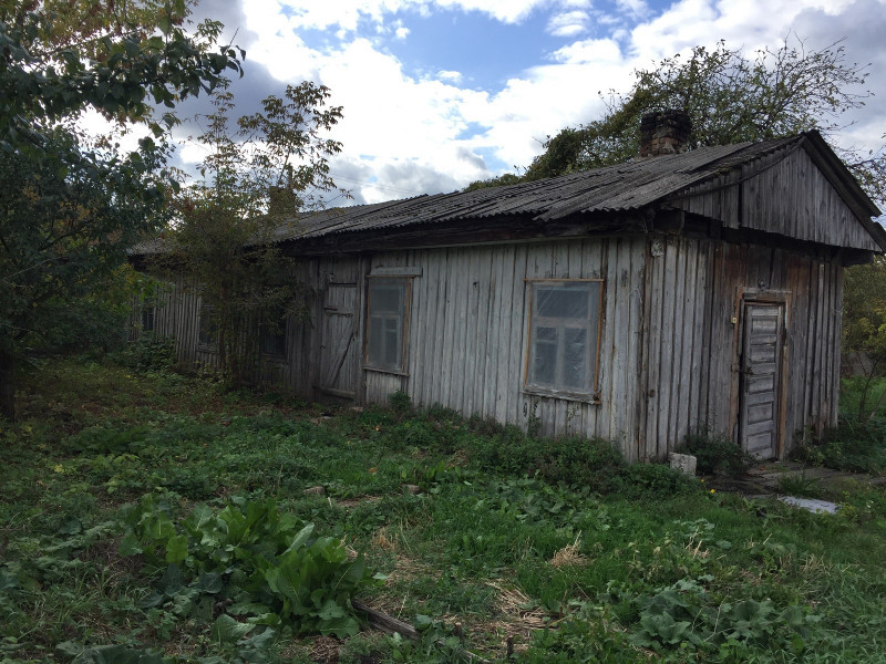 Колишня станція вузькоколійки у Камені-Каширському, вул. Ватутіна. 1