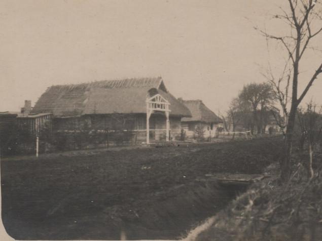Хата у селі Гута-Боровенська 1917 рік