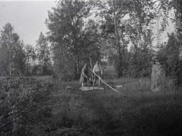 Мешканці села Малий Обзир на фото 1934 року