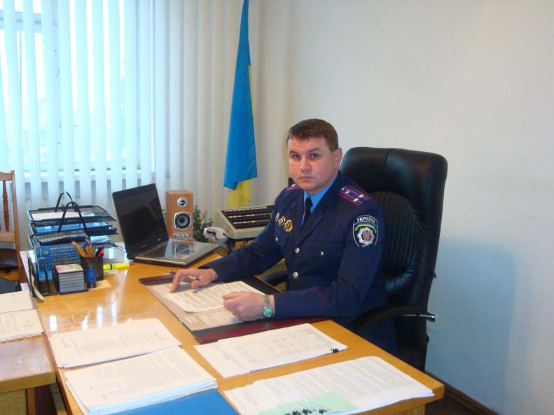 Начальник Камінь-Каширського відділу поліції Валентин Чих