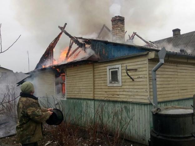 Пожежа трапилася у селі Мельники-Мостище