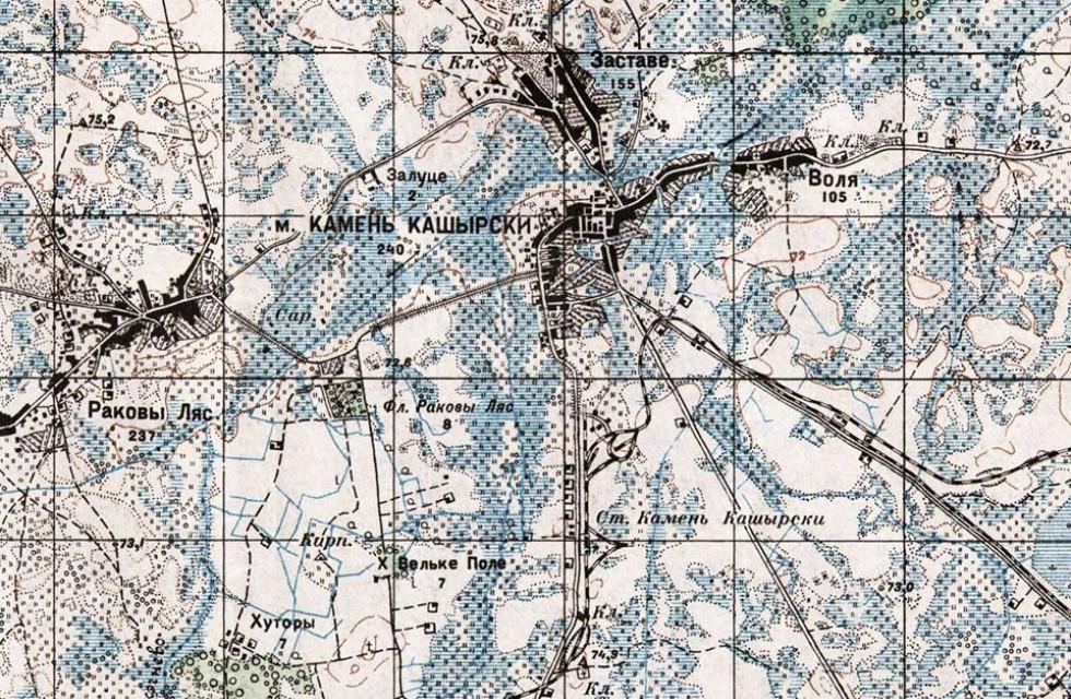 Фрагмент мапи 1932 р.