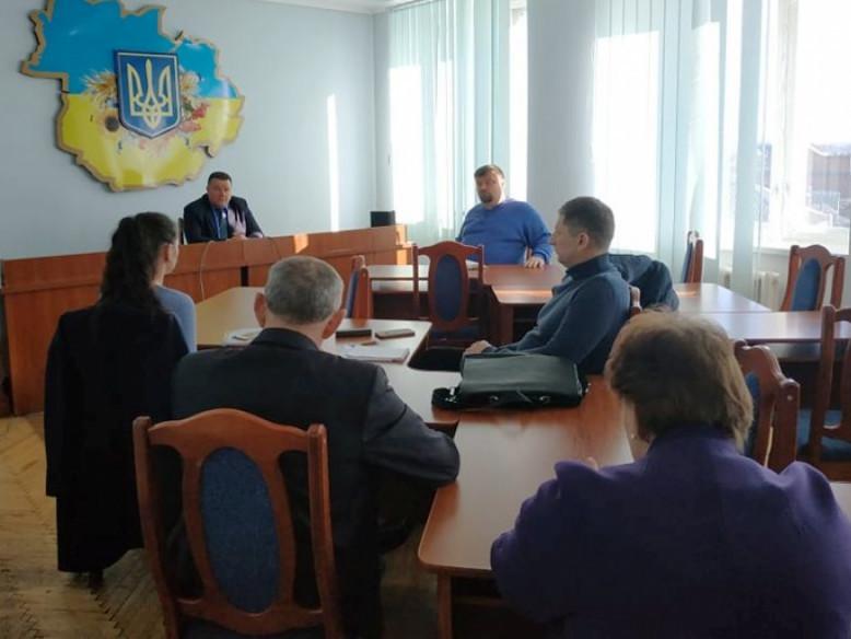 Через загрозу коронавірусу у Камені-Каширському відбулося засідання комісії