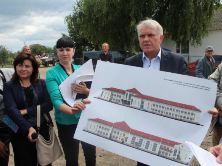 На співфінансування будівництва школи в Стобихівці виділять 820 тисяч гривень