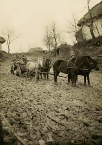 Волинська дорога сто років тому.