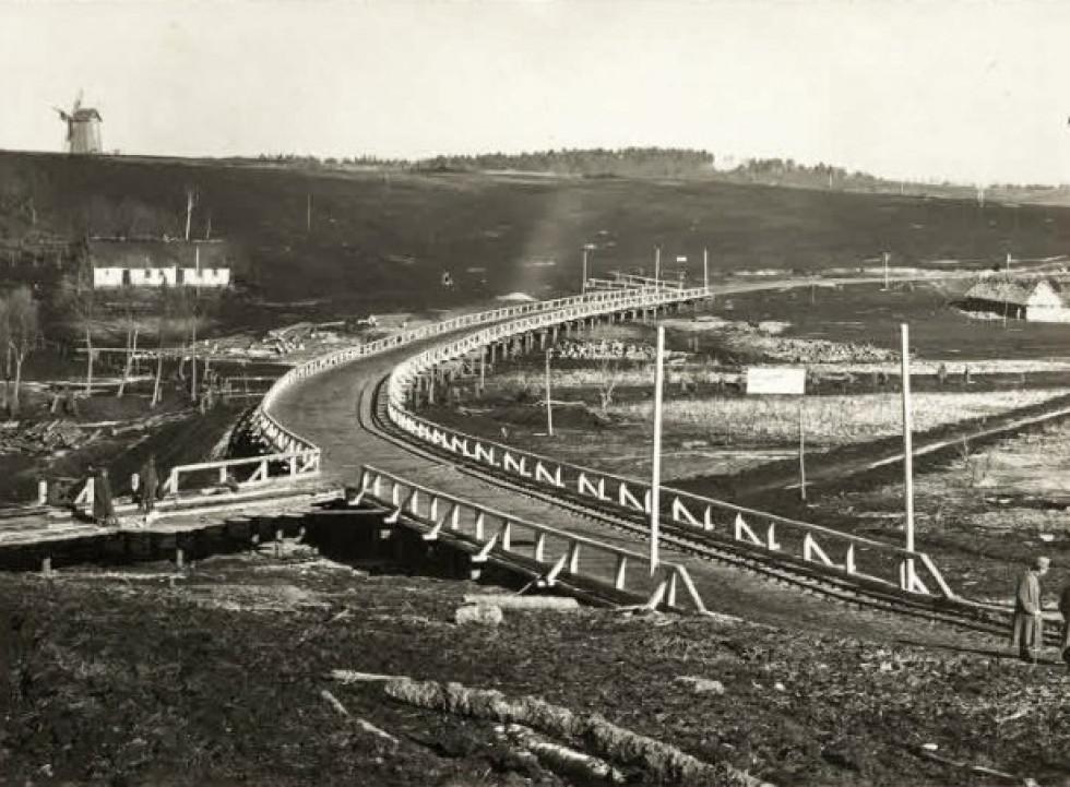 Новозбудований міст десь на Волині.