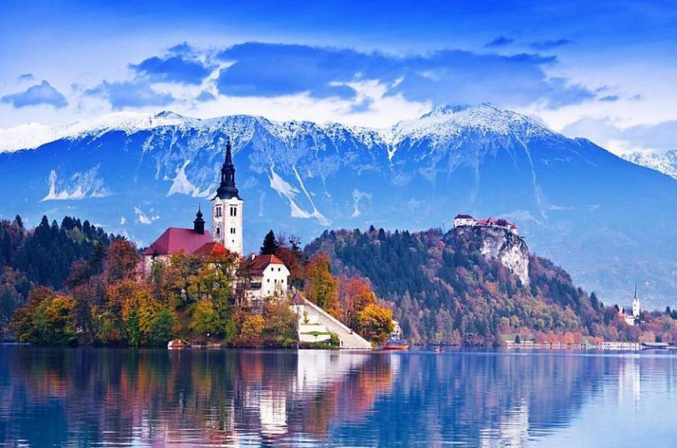 Словенія, озеро Блед