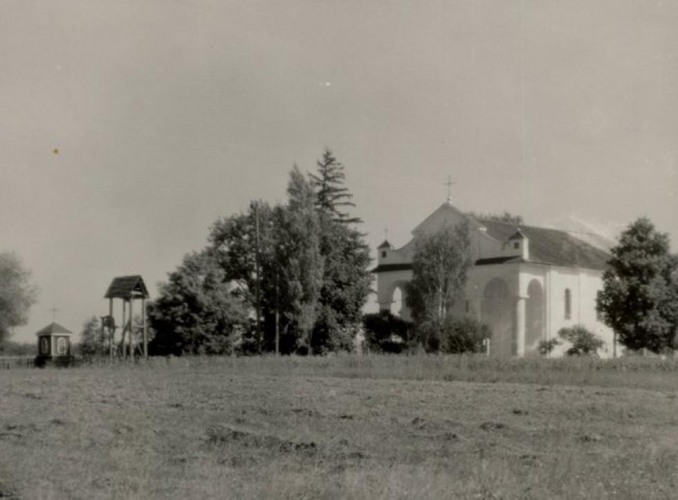 Камінь-Каширський. Костел Святого Михайла.