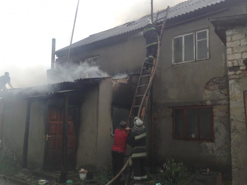 Пожежа в Піщаному