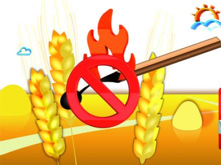 Камінь-каширців закликають зберегти врожай від вогню