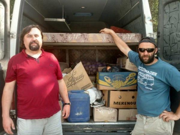 Із Каменя-Каширського відправили допомогу в зону бойових дій