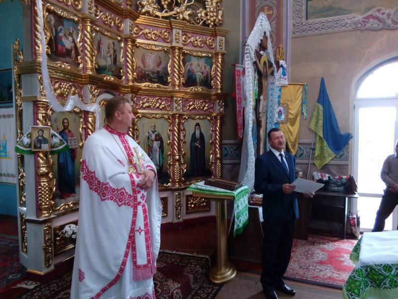 Камінь-Каширський: священика з 20-літтям служіння привітав Валерій Дунайчук