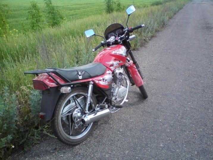Затримали мотоцикл, який розшукувала поліція