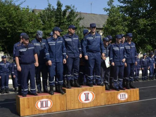 Камінь-Каширський: пожежно-рятувальна частина виборола першість на Волині