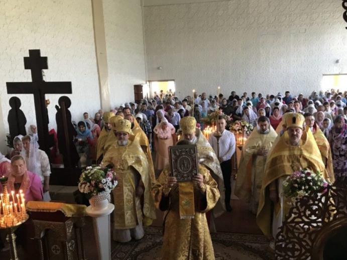У Камені-Каширському вшанувати пам'ять святого пророка Іллі зібралося чимало людей