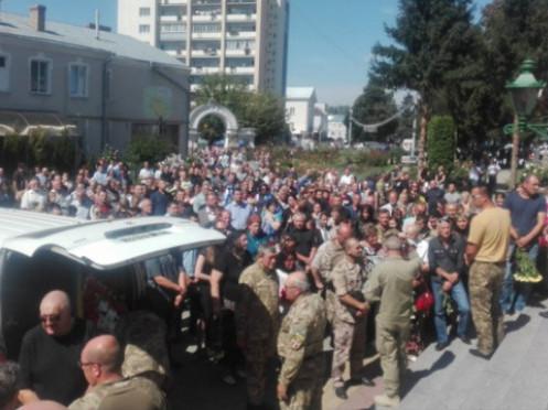 Тіло Сергія Цепуха повезли до Каменя-Каширського