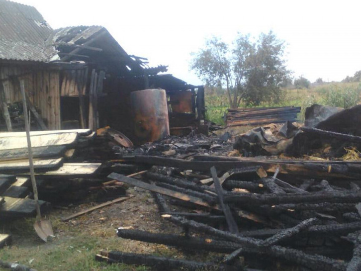 Камінь-Каширщина: рятувальники ліквідували дві пожежі