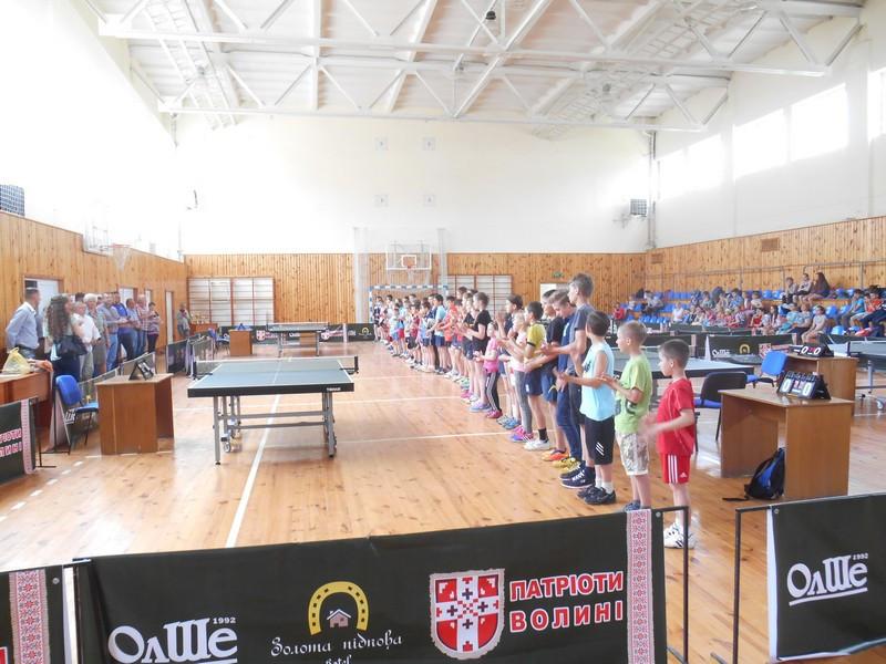 Турнір з настільного тенісу на честь 80-річчя тренера Володмимира Косяка