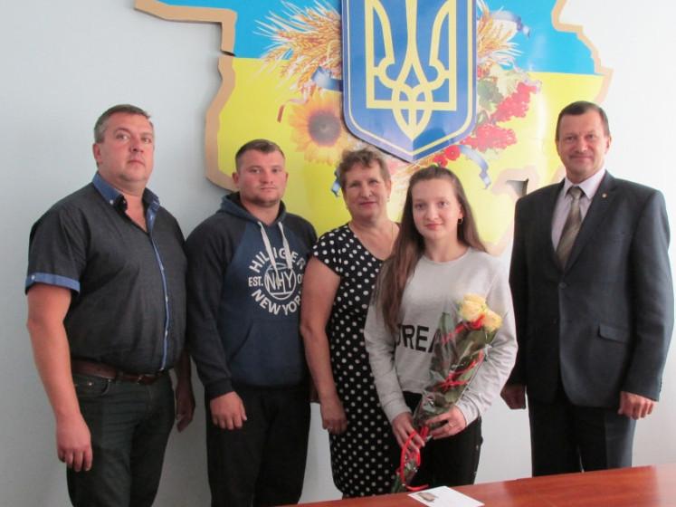 Кандитат у майстри спорту з Волині Валерія Козак повернулася з чемпіонату України