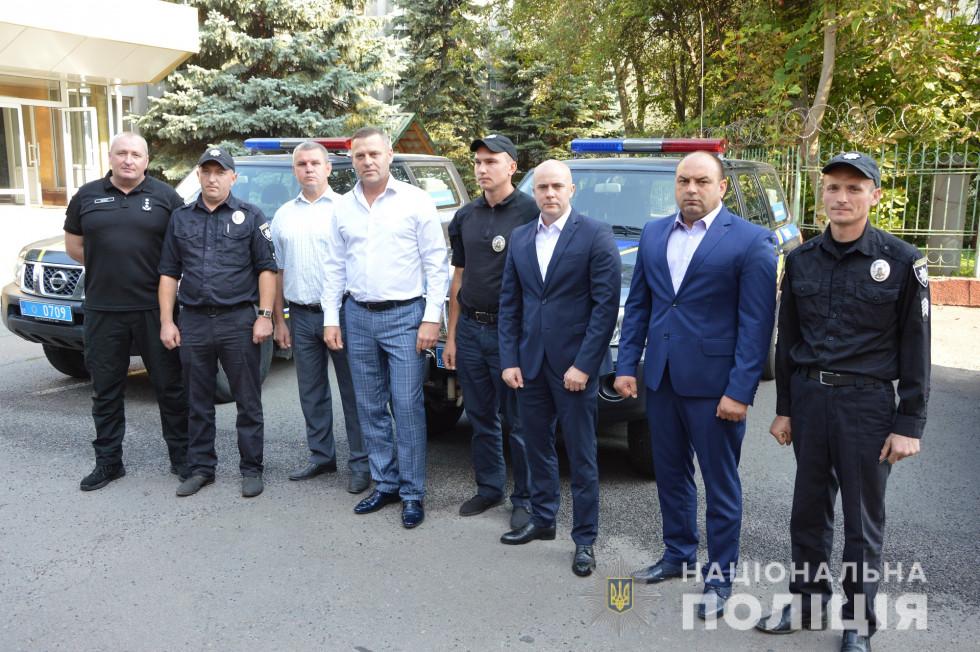 Поліція трьох районів Волинської області отримала позашляховики