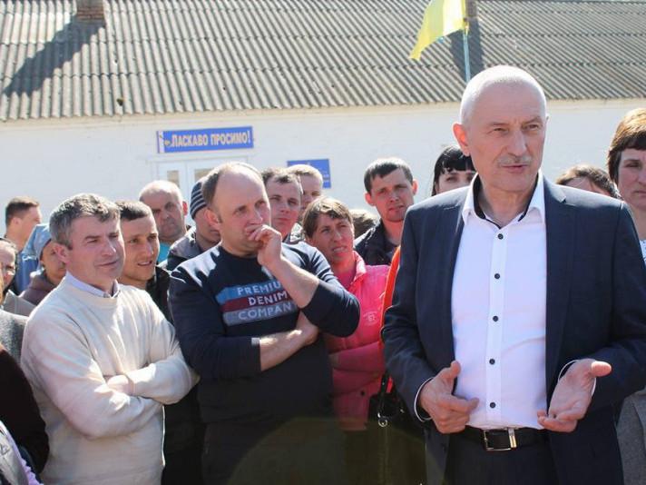Протест до першого вересня у Стобихівці