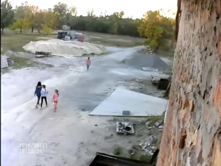 Відео з камери спостереження