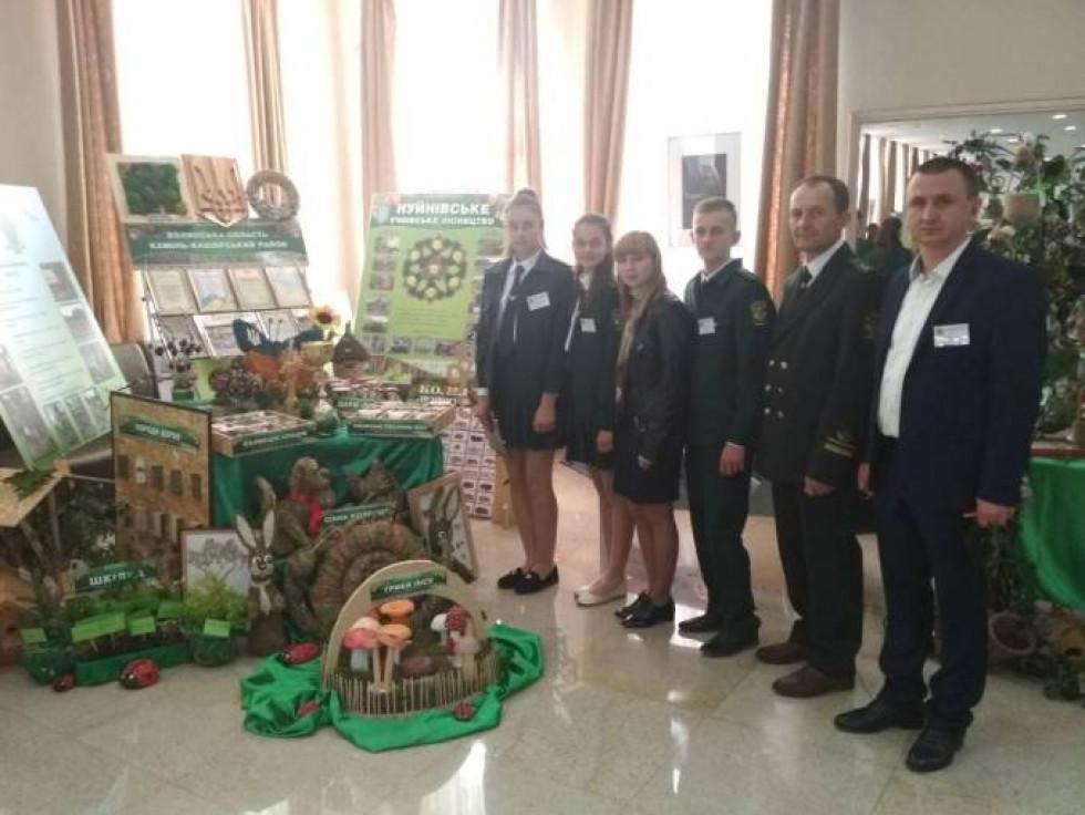 Волинь на змаганнях представляло Нуйнівське учнівське лісництво (ДП «Камінь-Каширське ЛГ»)