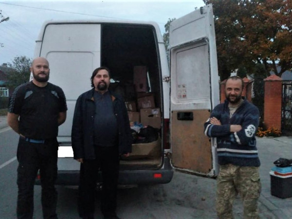 Волонтери міста Каменя-Каширського з благодійною місією вирушили на Схід України