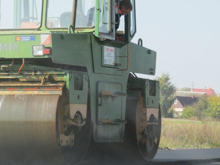 Ремонт дороги «Камінь-Каширський – Полиці» просувається швидкими темпами – керівники району