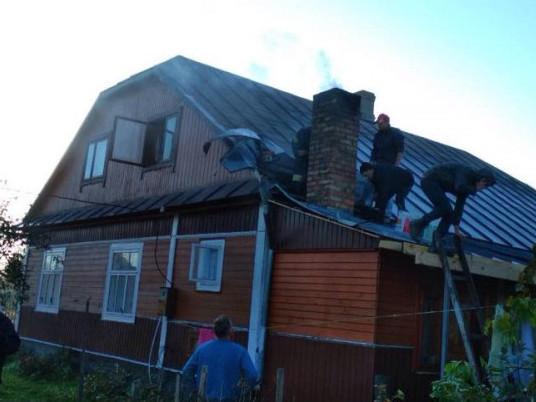 В селі на Волині у свято загорівся житловий будинок