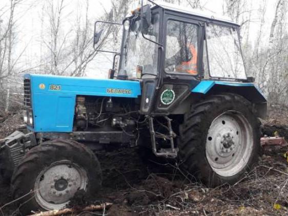Камінь-Каширська лісова охорона допомагає рятувальникам гасити пожежі на торфовищах