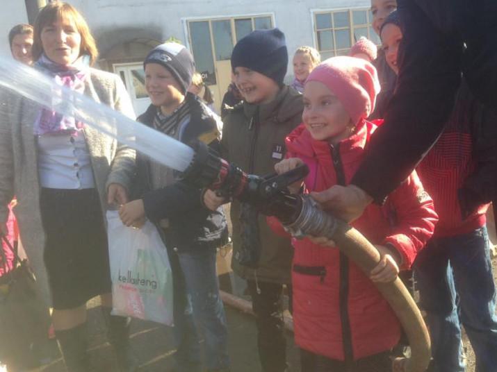 Школярі села Острівок завітали до камінь-каширських рятувальників
